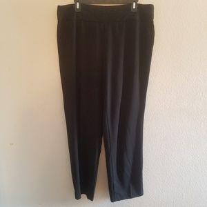 Black Petite Pants in Size 14
